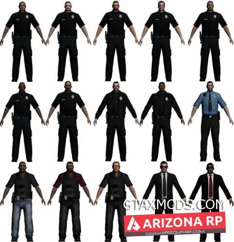Police Skin Pack