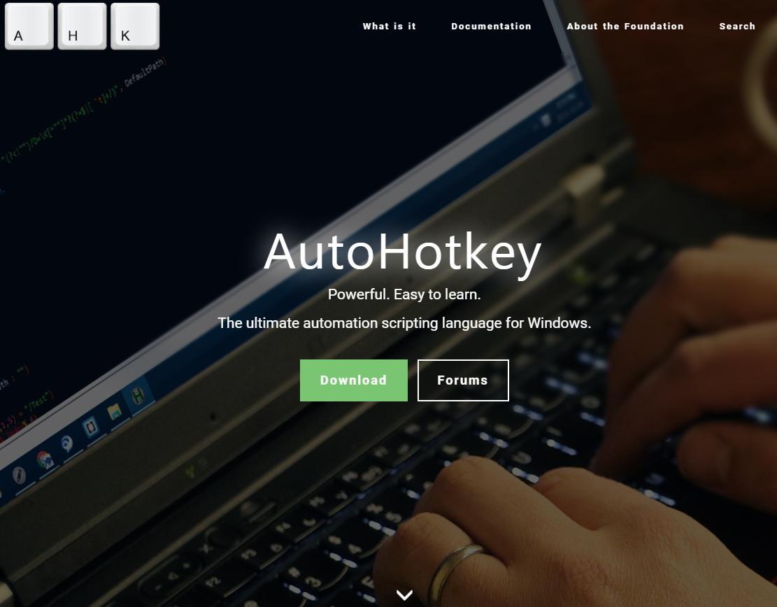 AutoHotKey 1.1.30.1