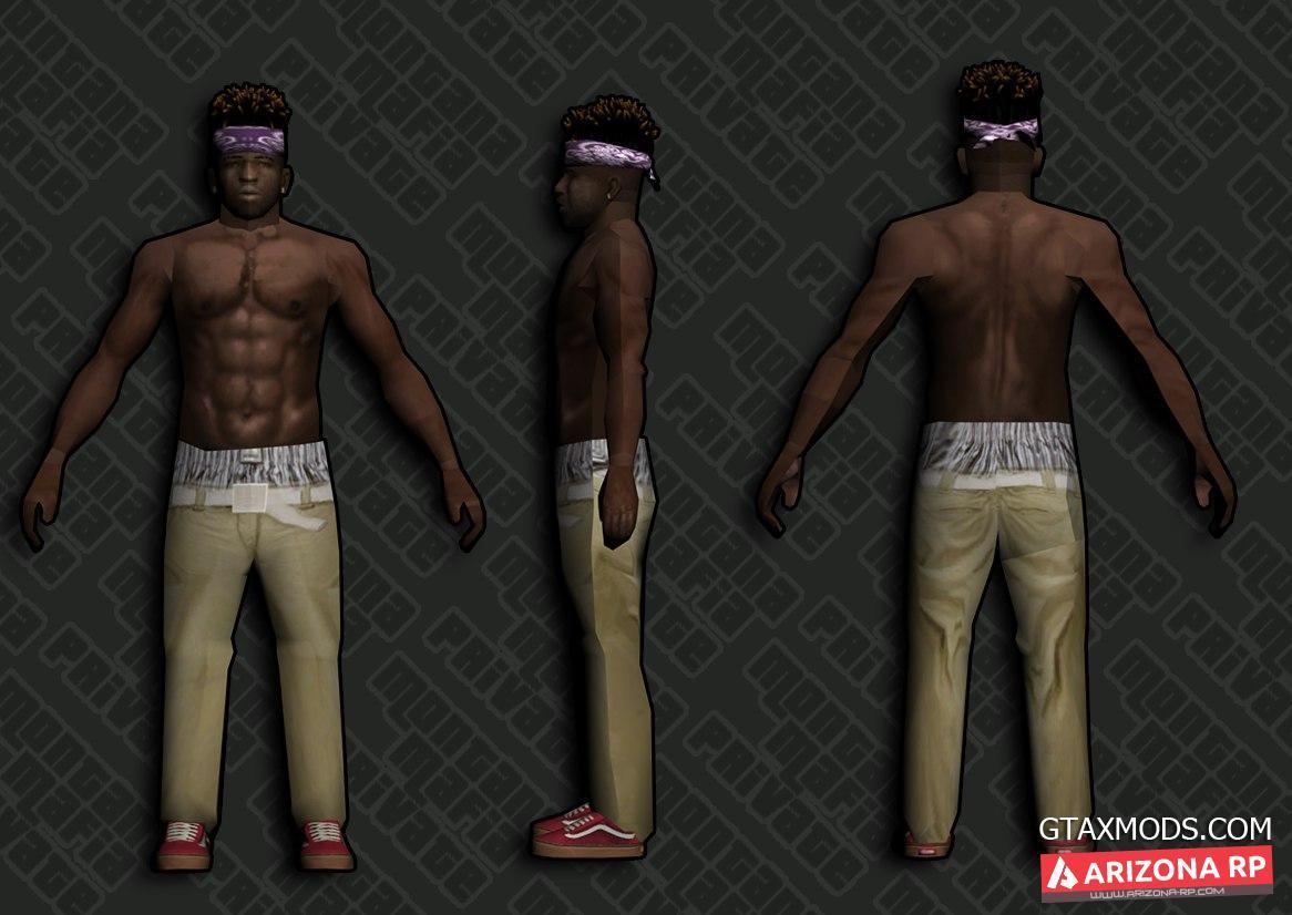 ballas1 - дреды и серьги - без футболки