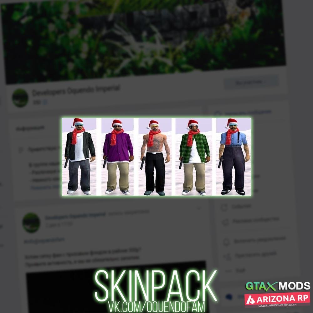 New Year SkinPack