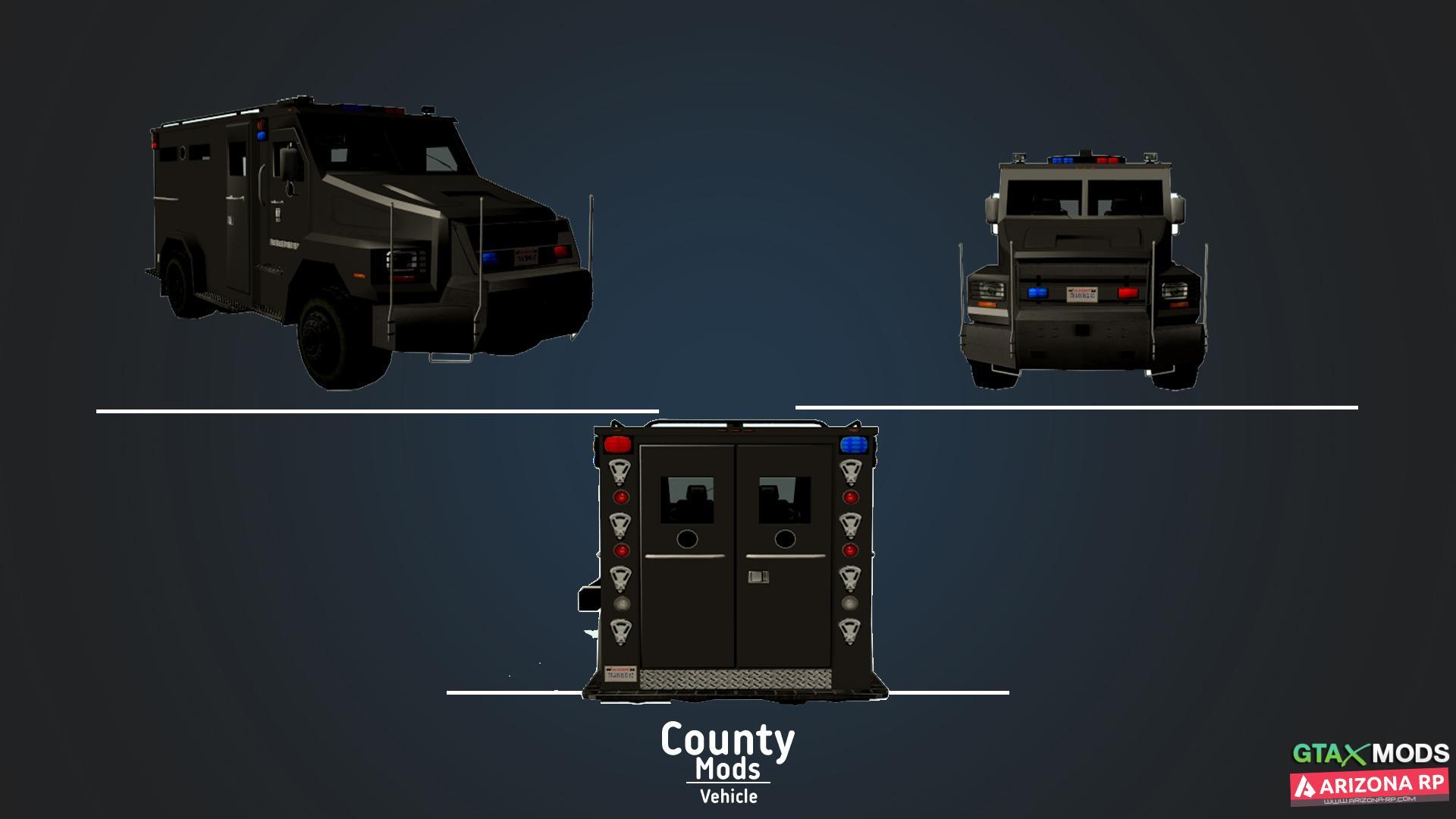 [LQ] Enforcer - Броневик
