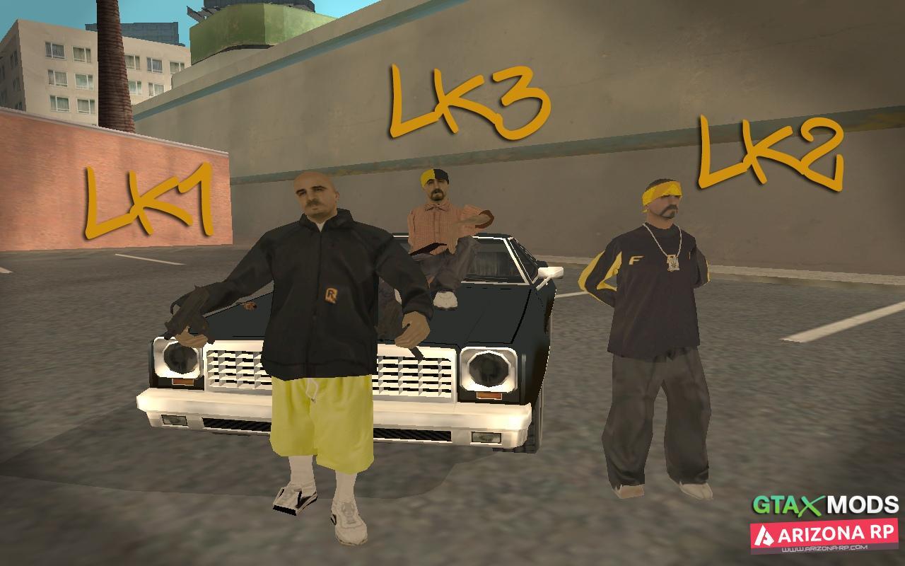 Latin Kings Skin Pack