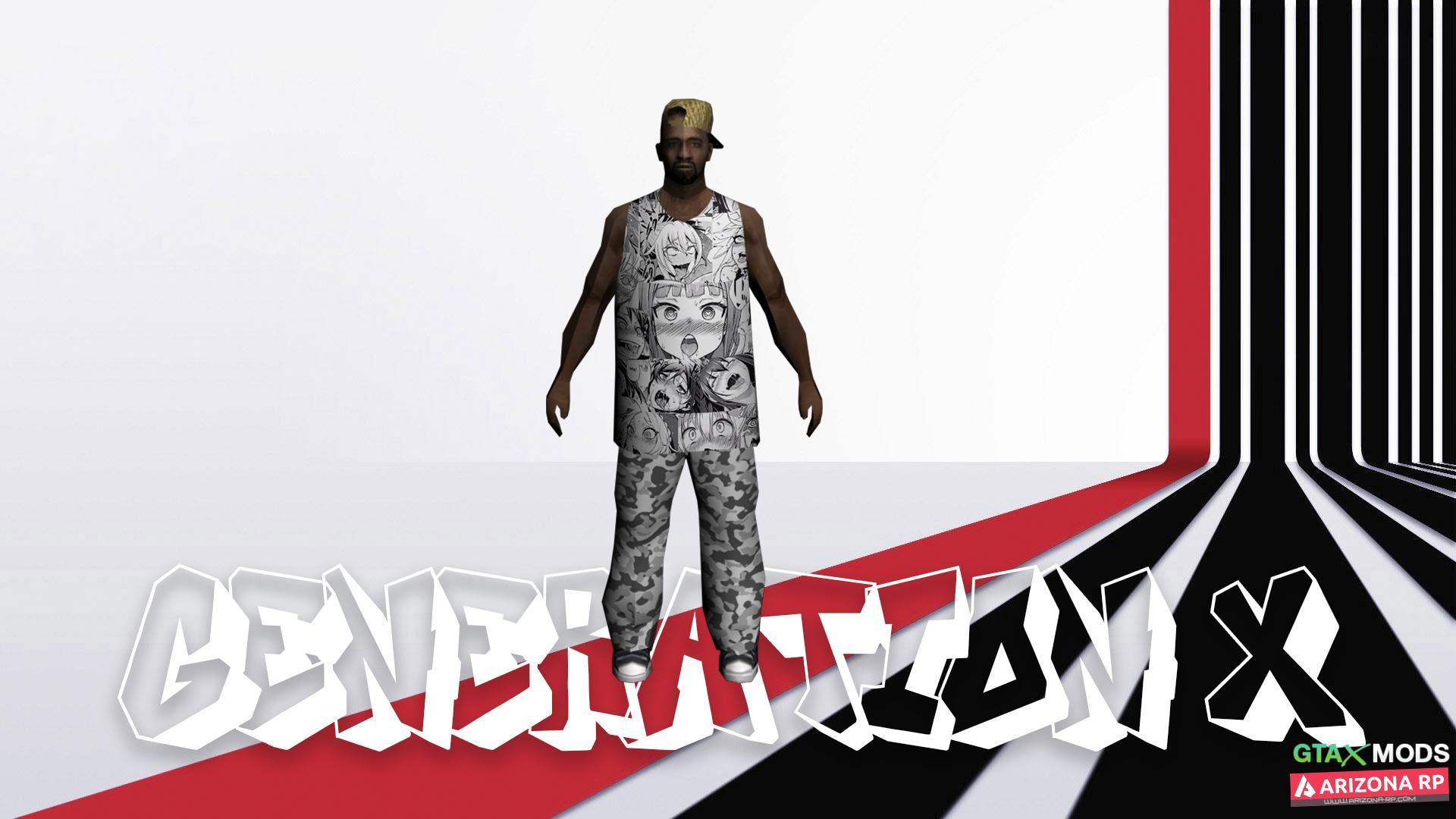 Революционный аниме-скин Aheago FAM3 | GENERATION X |