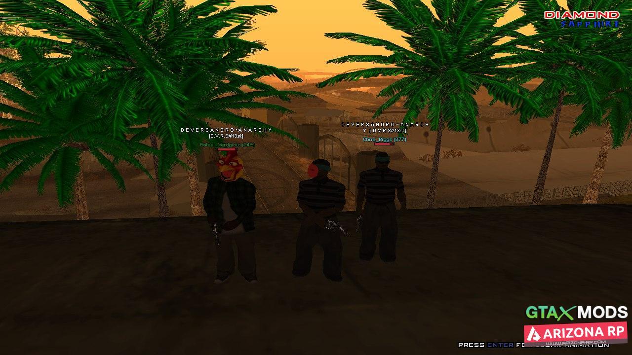 Насыщенные Пальмы
