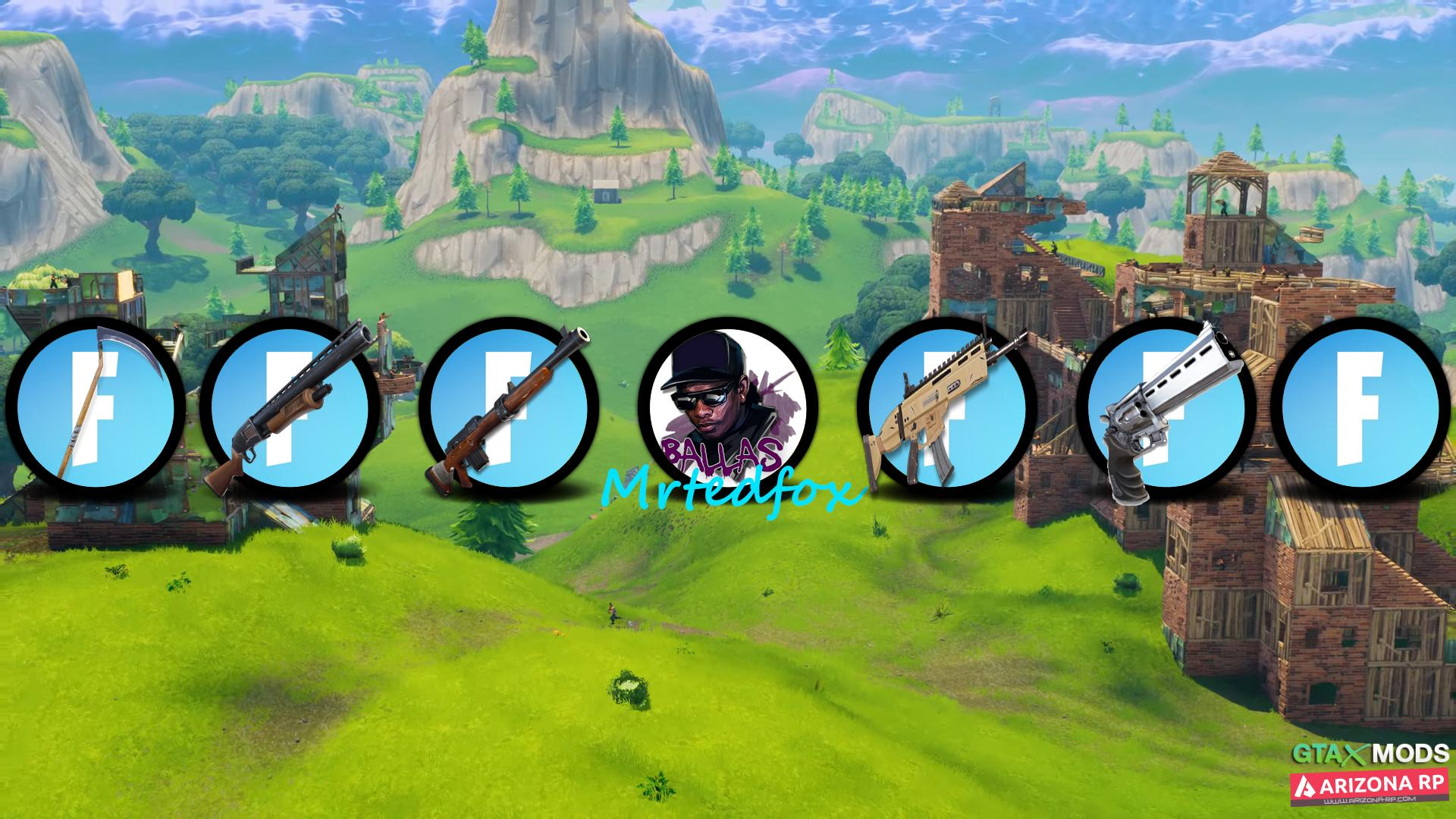 Fortnite Icon pack by mrtedfox.