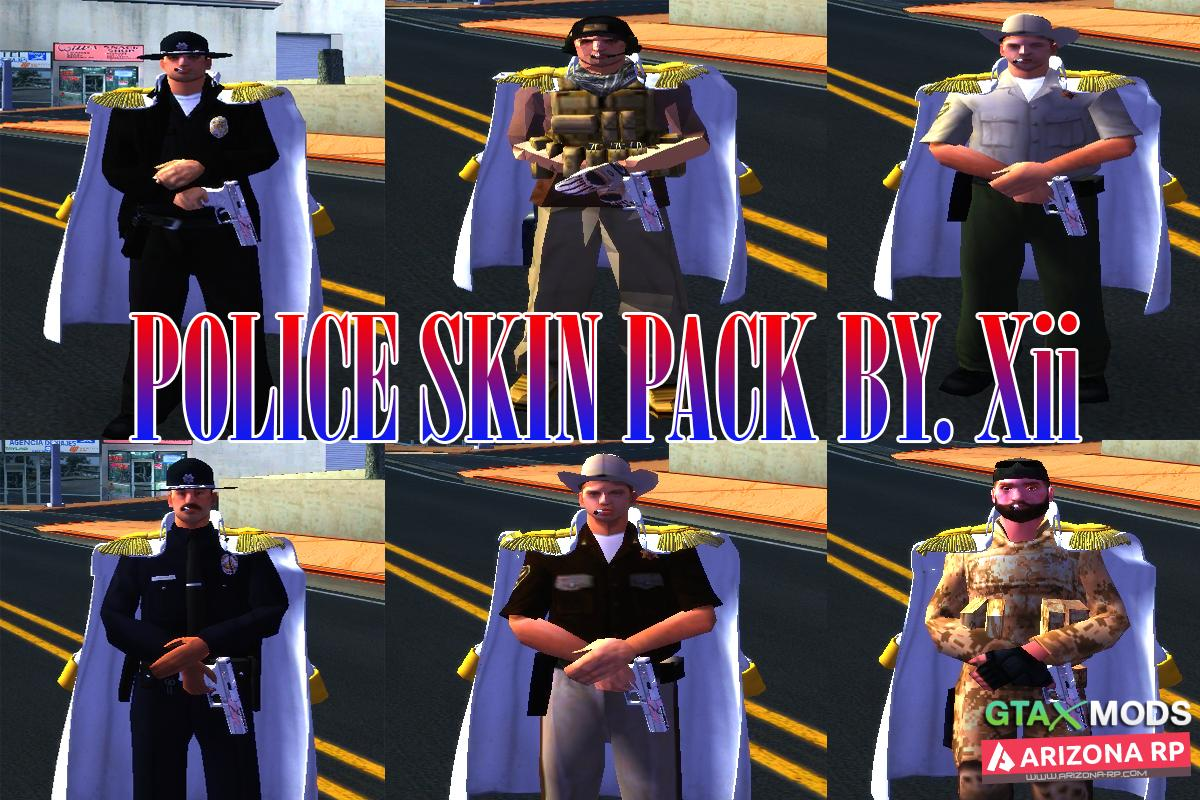 POLICE SKIN PACK BY. Xii