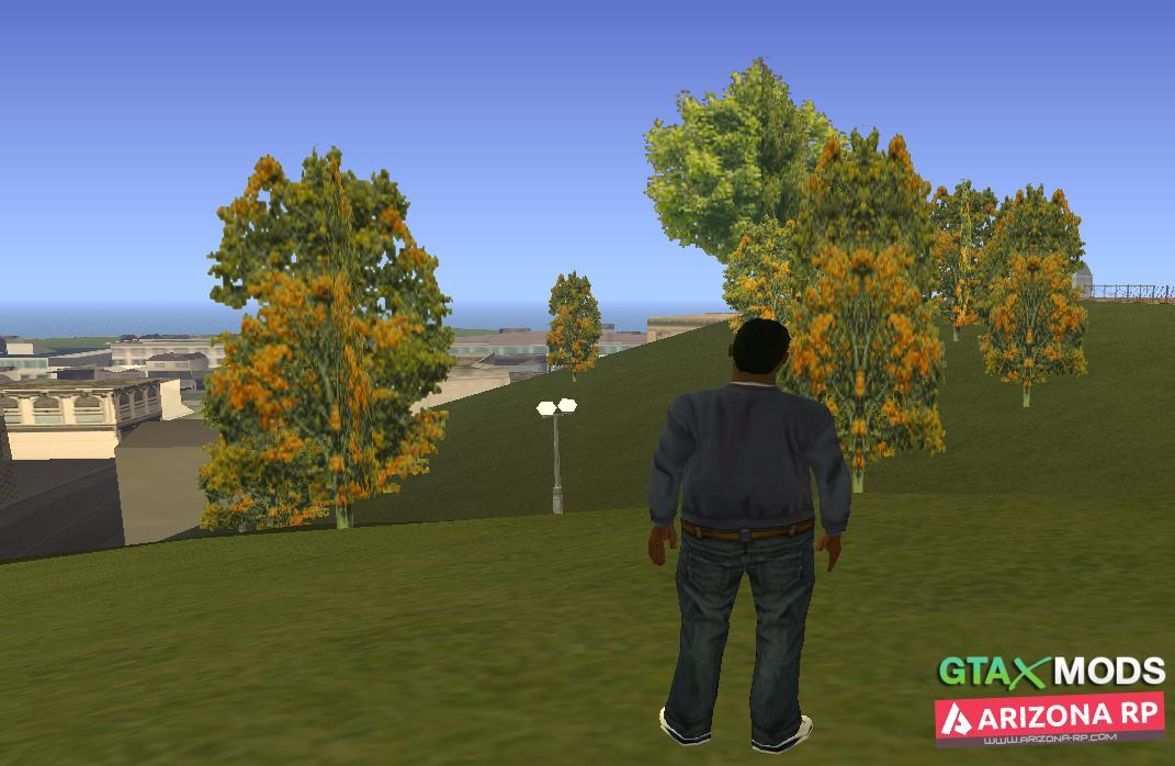 GTA III Vegetation
