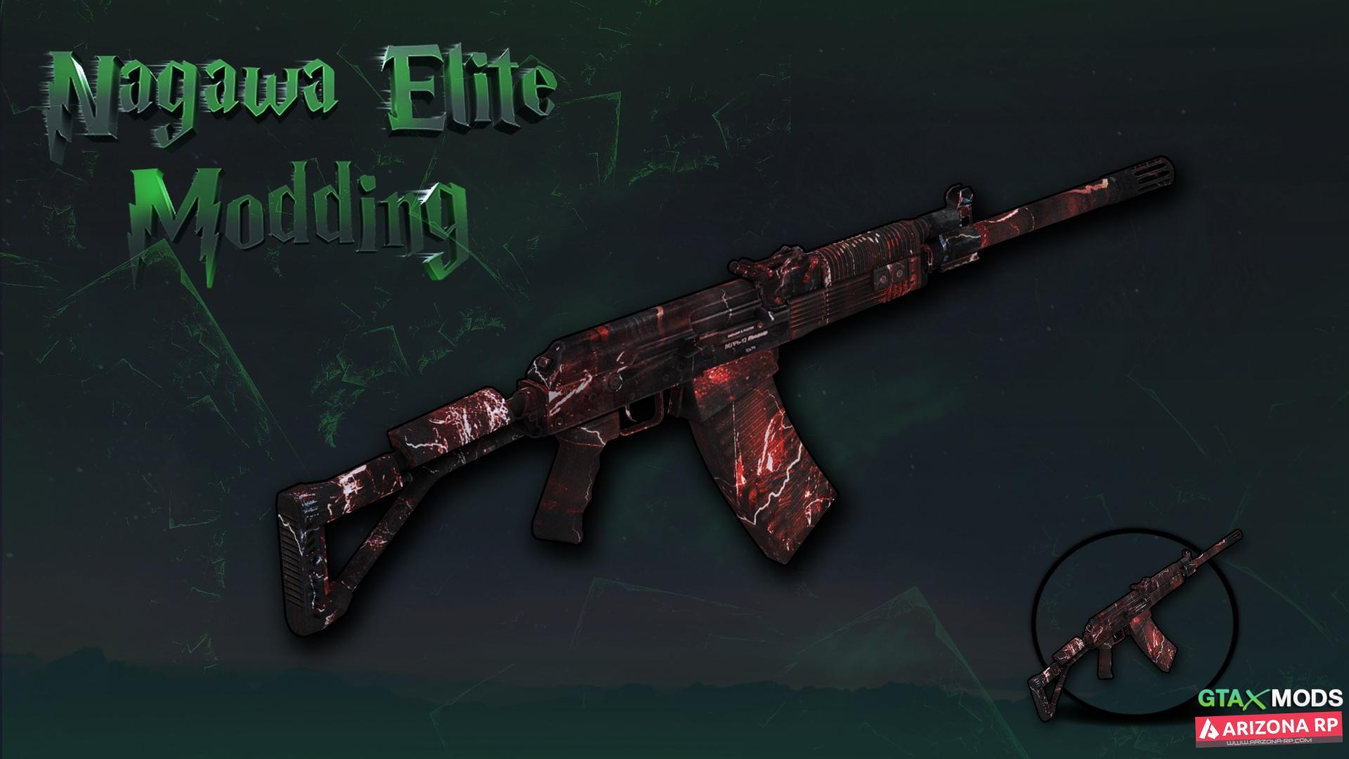 AK-47 *Metro* | Nagawa Elite Modding