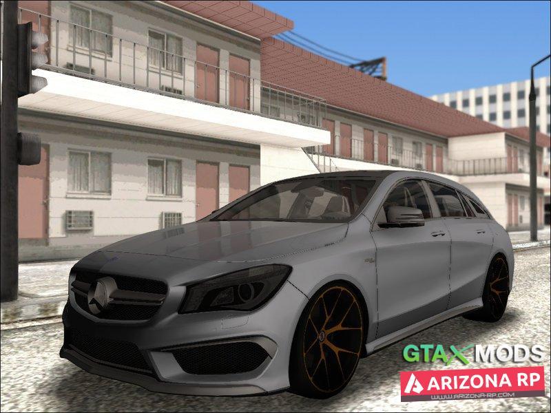 Mercedes-Benz -CLA 45 Shooting Brake |ArozaMods