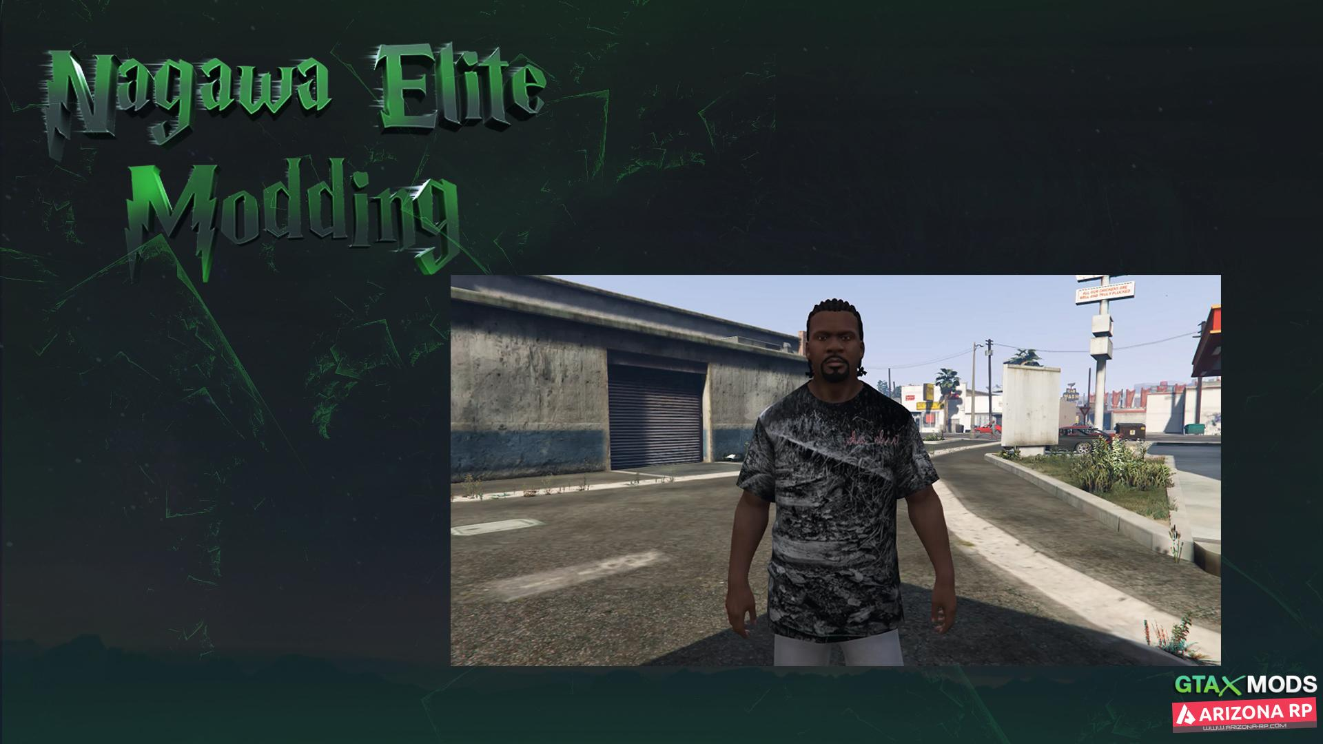 Пешеход лля GTA 5   Nagawa Elite Modding