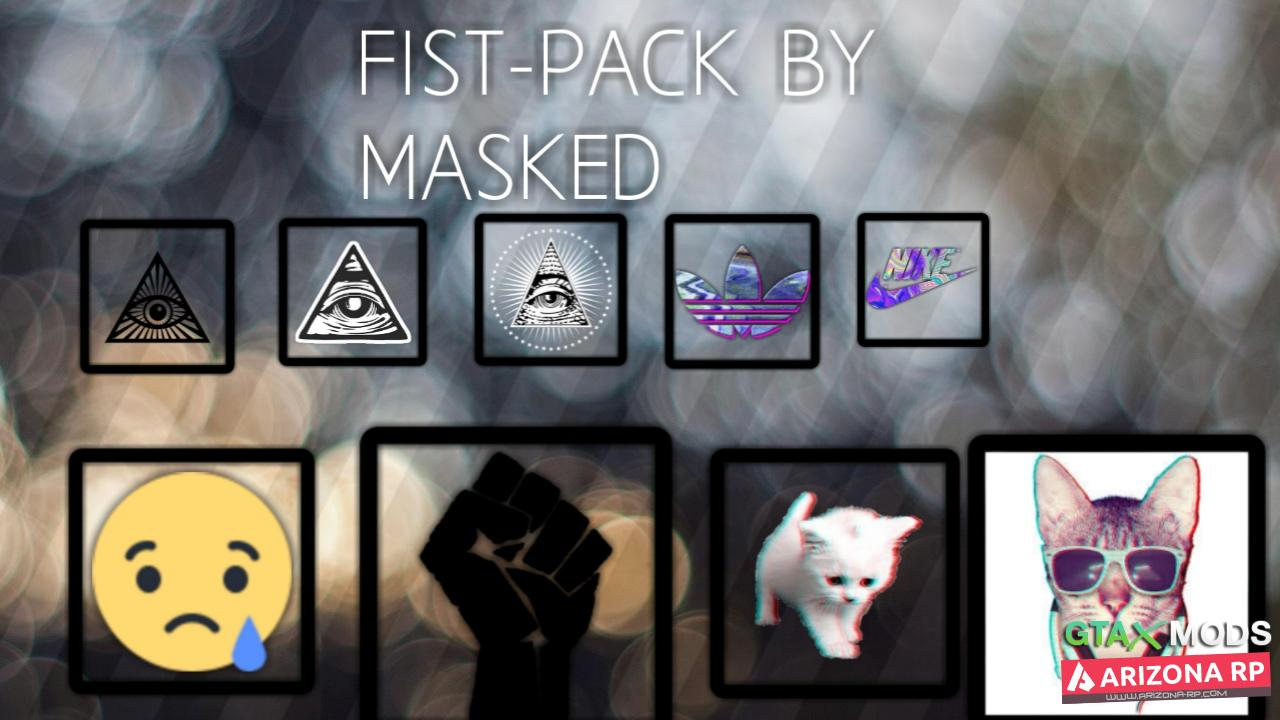 Fist Pack By MaskedForce a.k.a Klen