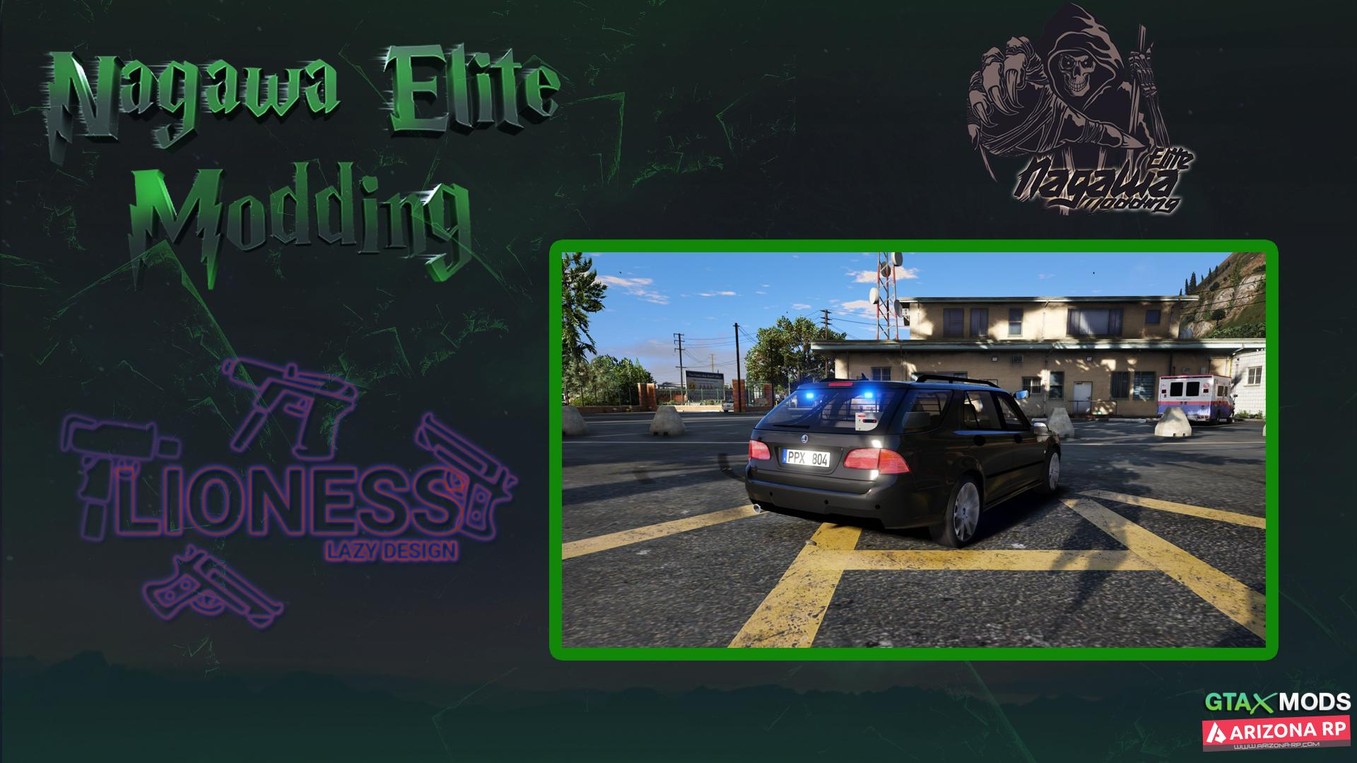 NEW FBI CAR | Nagawa Elite Modding