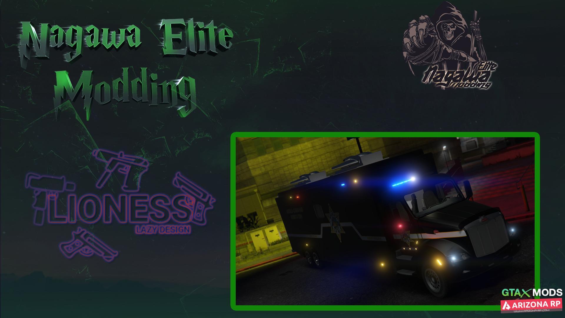 New Car Police   Nagawa Elite Modding