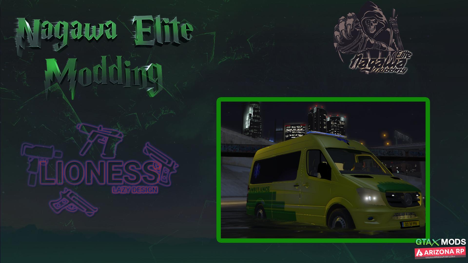 New Car Ambulance | Nagawa Elite Modding
