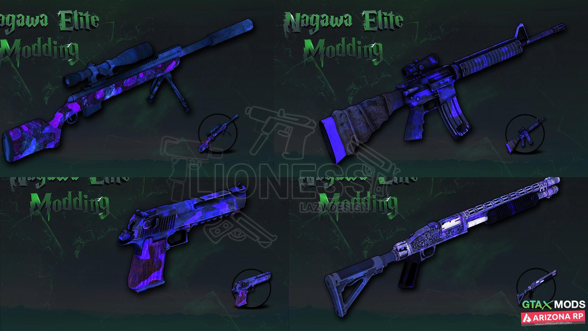Gun Pack by Nagawa Elie