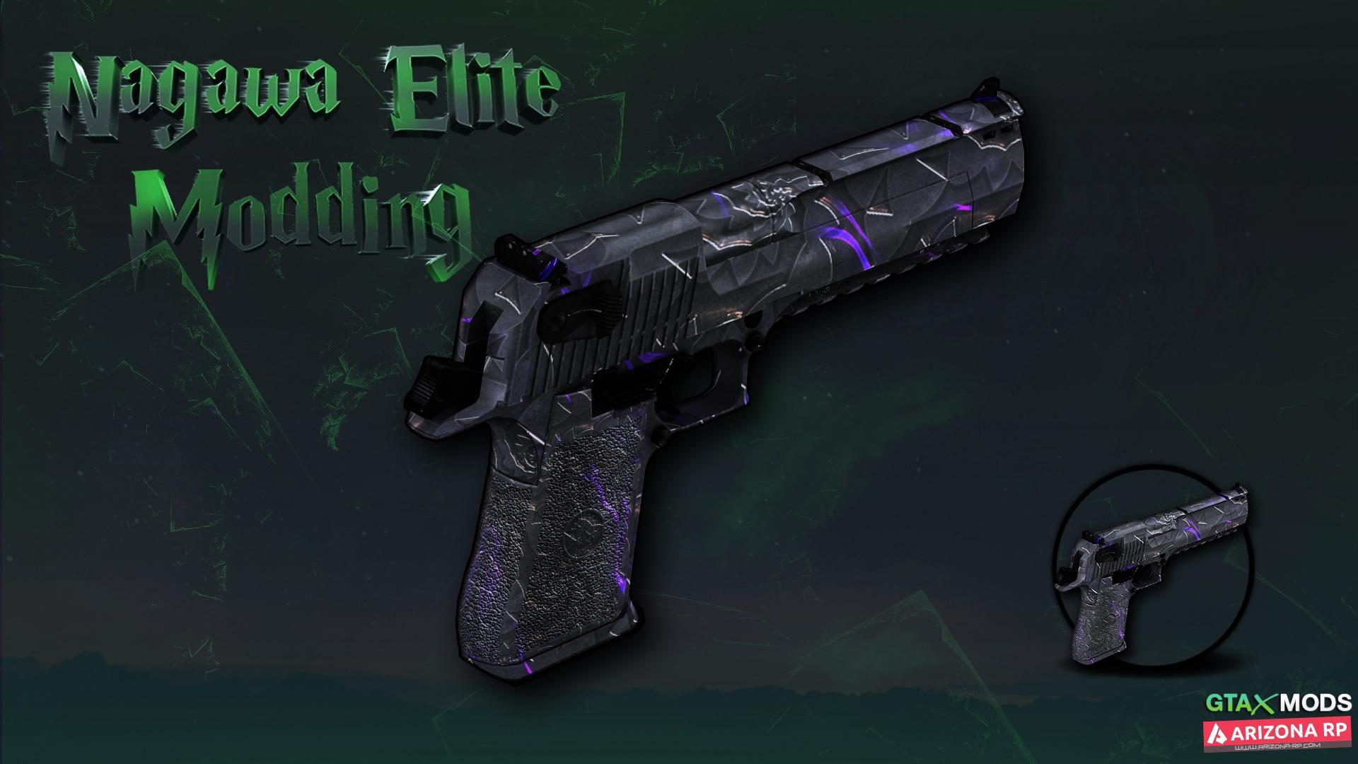 Desert Eagle | Black E | Nagawa elite Modding