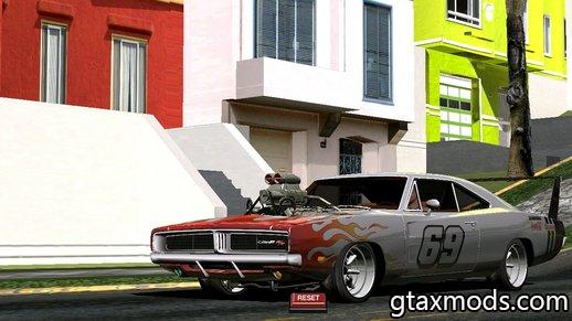 1969 Dodge Charger 69 R/T By Donz