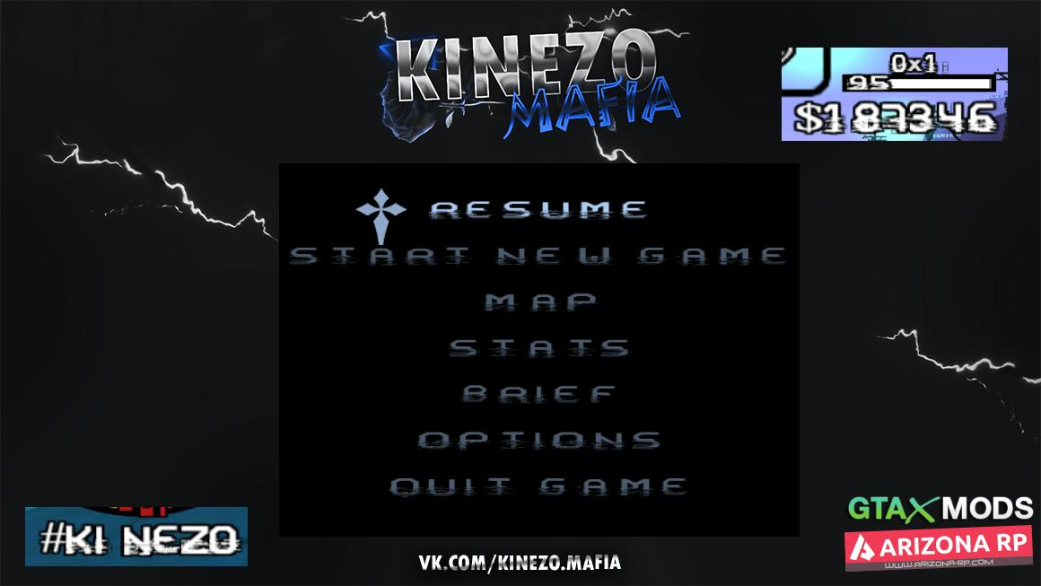 Glitch Fonts | Kinezo Mafia