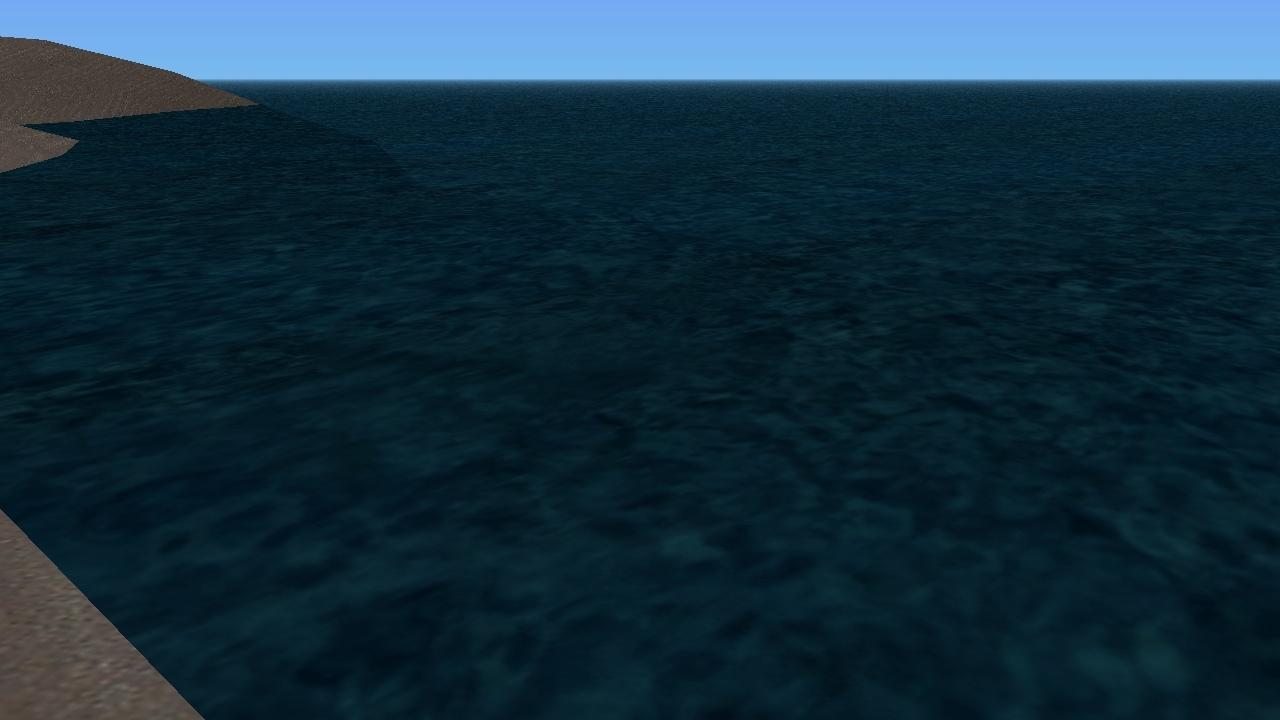 Красивая вода.