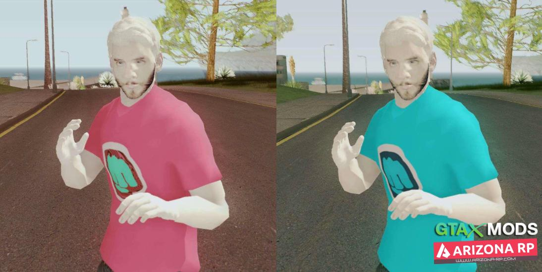 PewDiePie skin for GTA