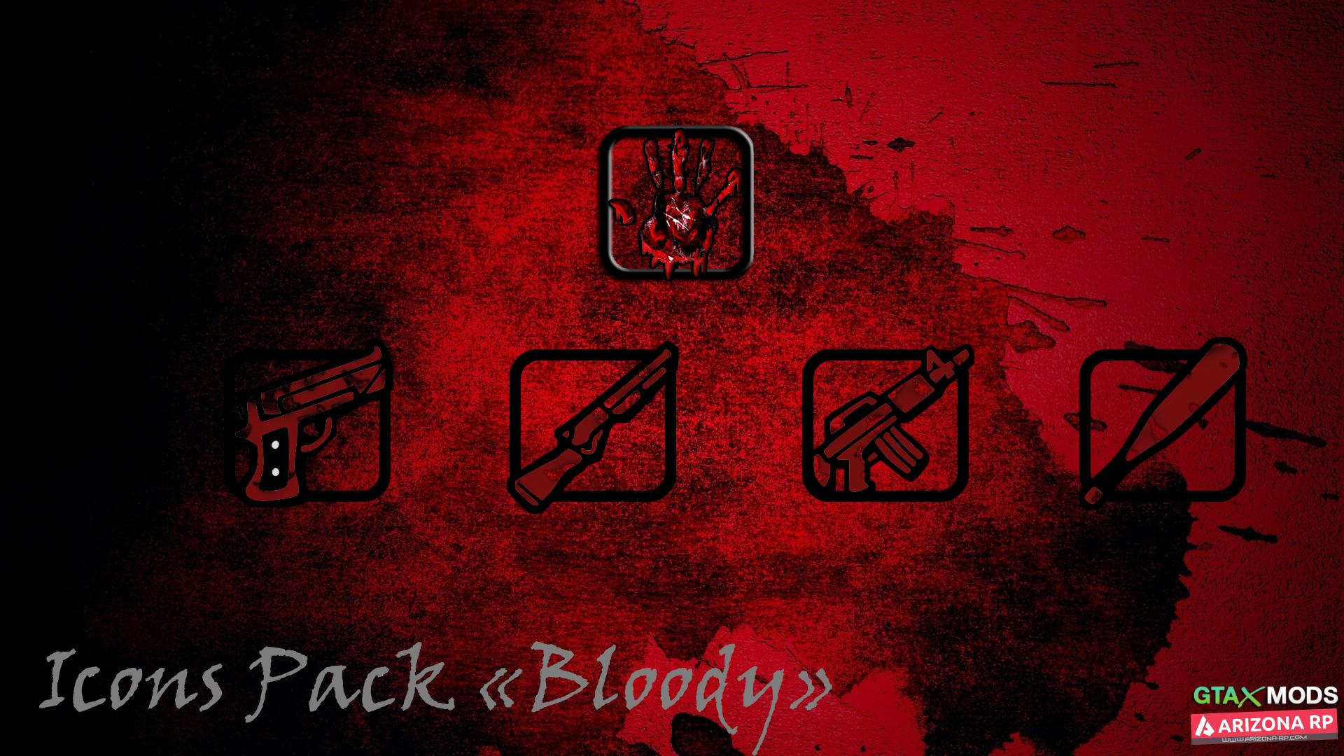 Icons Pack Bloody
