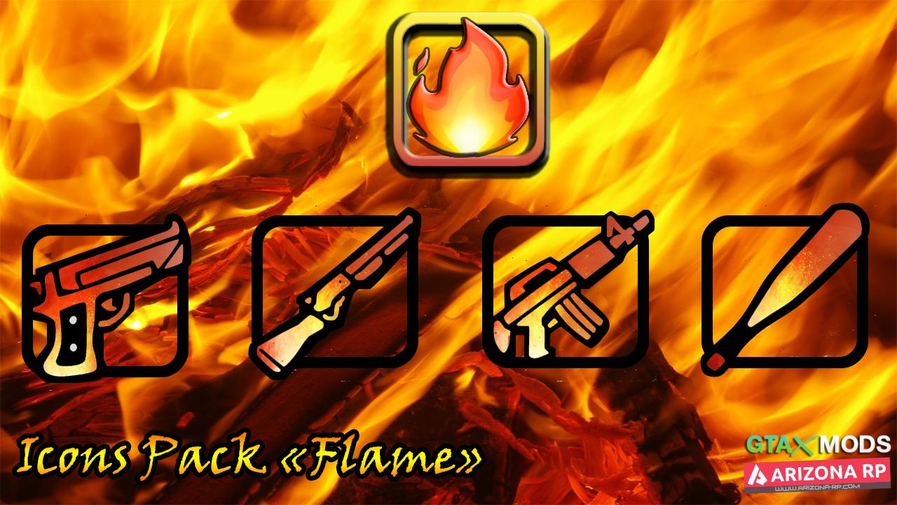 Icons Pack Flame