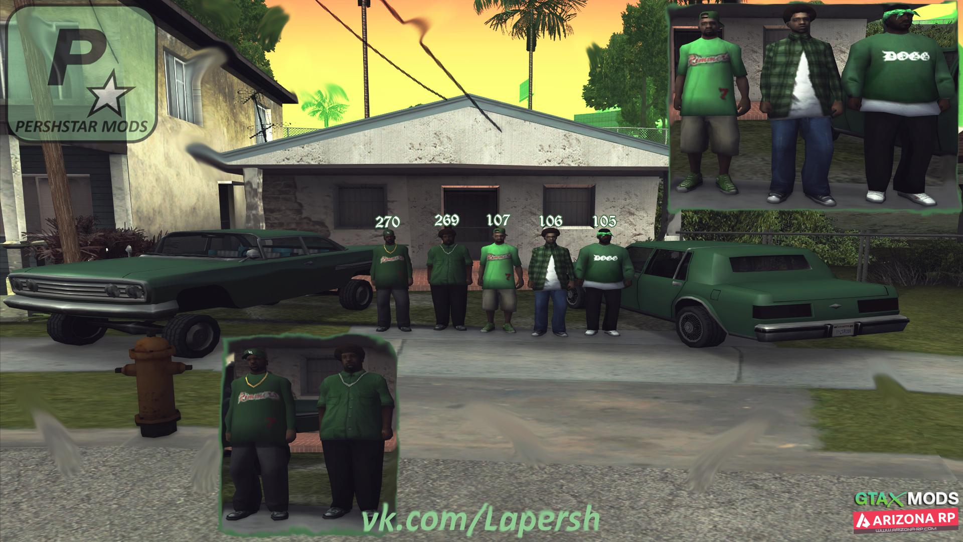 """""""Grove Street Families"""" by Persh"""
