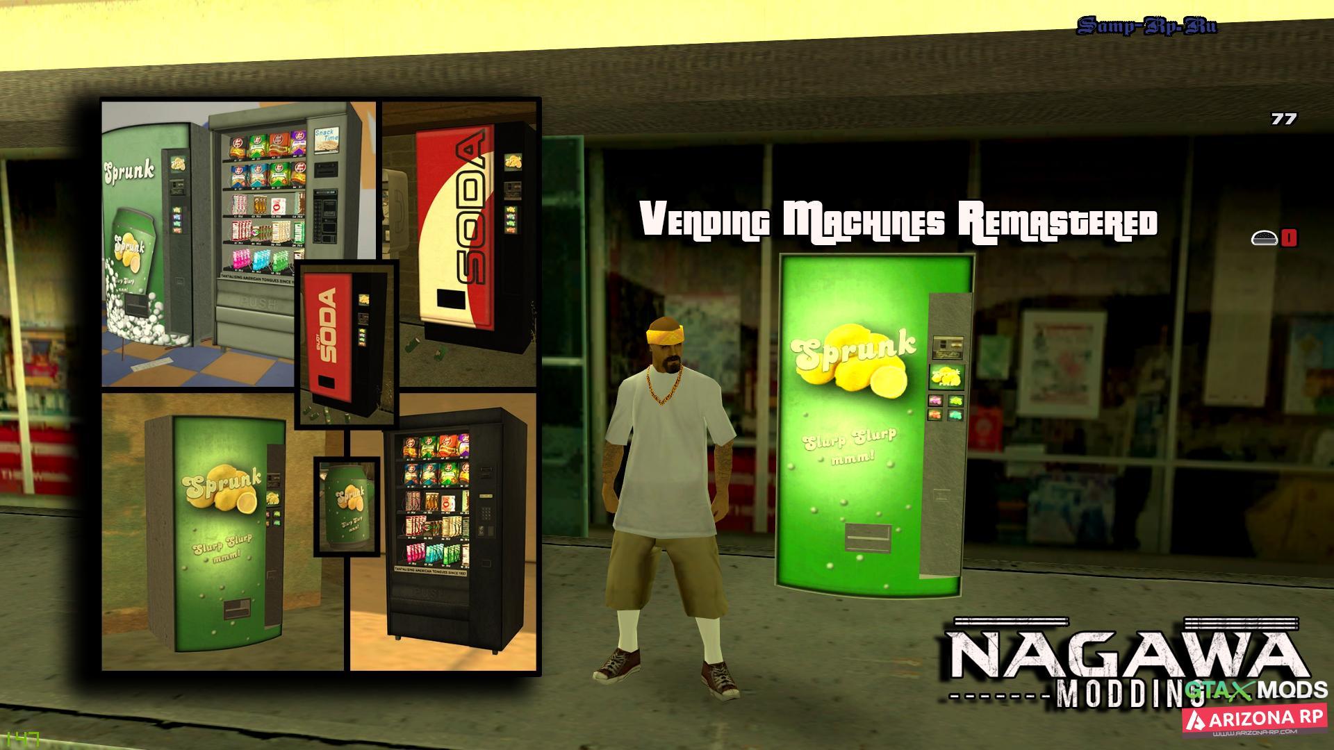 Vending Machines Remastered х Nagawa Elite Modding
