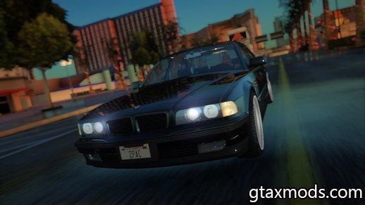 1996 BMW 750i E38