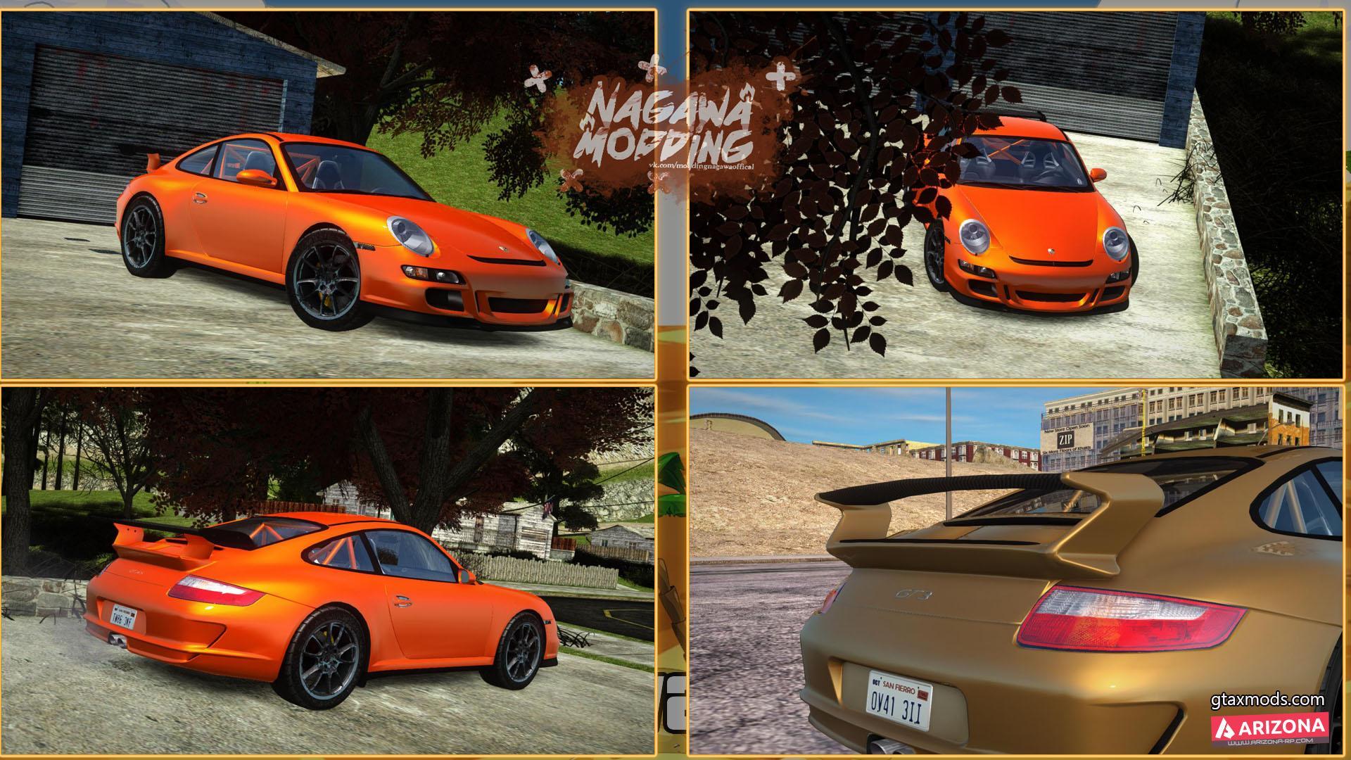 Porsche 997 GT3RS (2 версии)