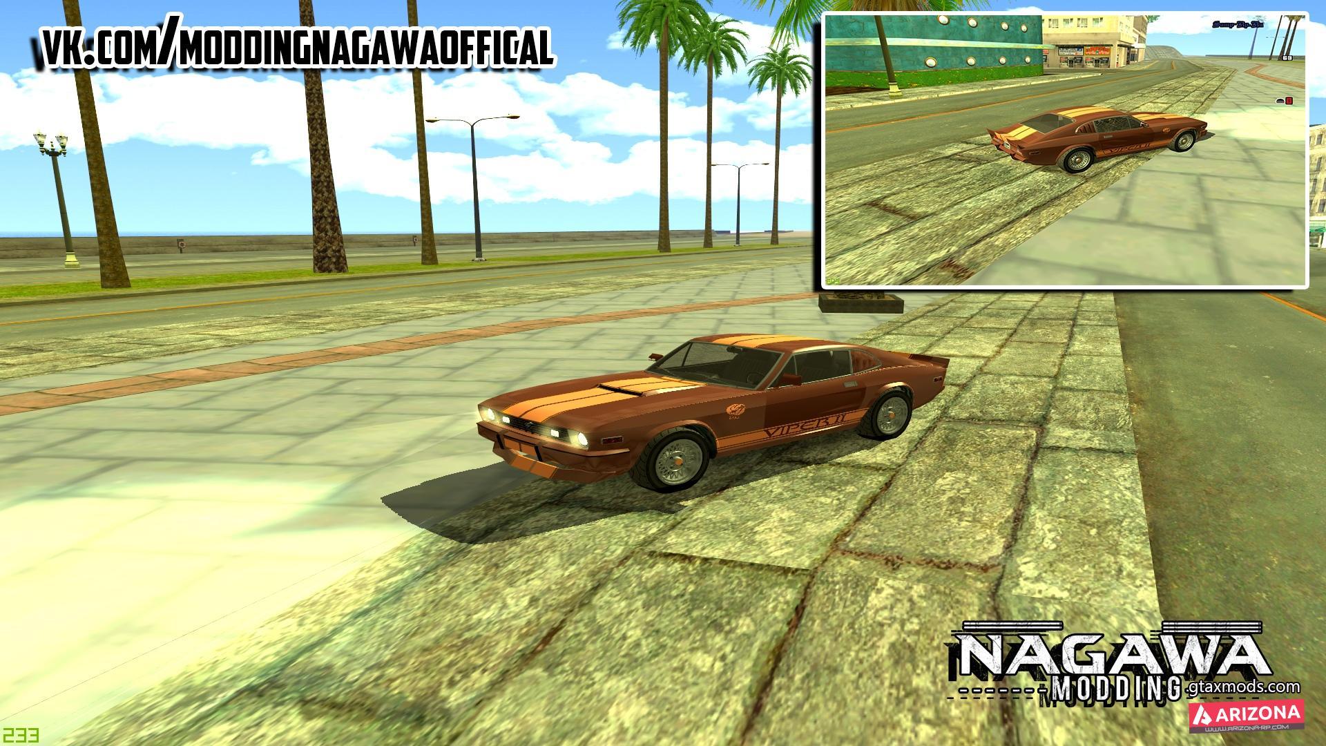 Dodge Viper Retro