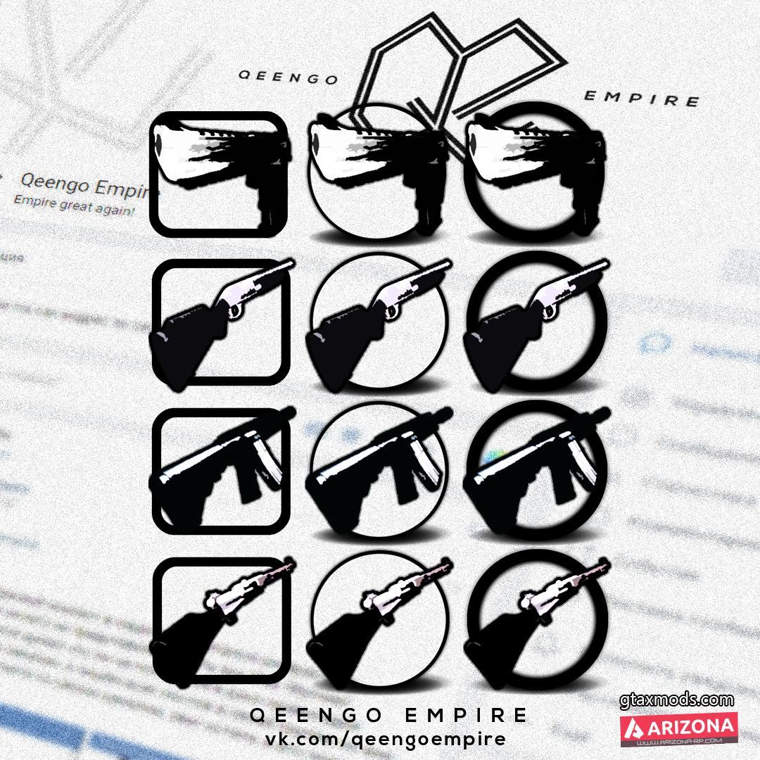 B&W Gunpack by Qeengo Empire