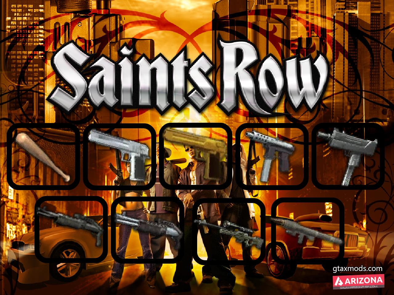 Saints Row 1 Icons Pack