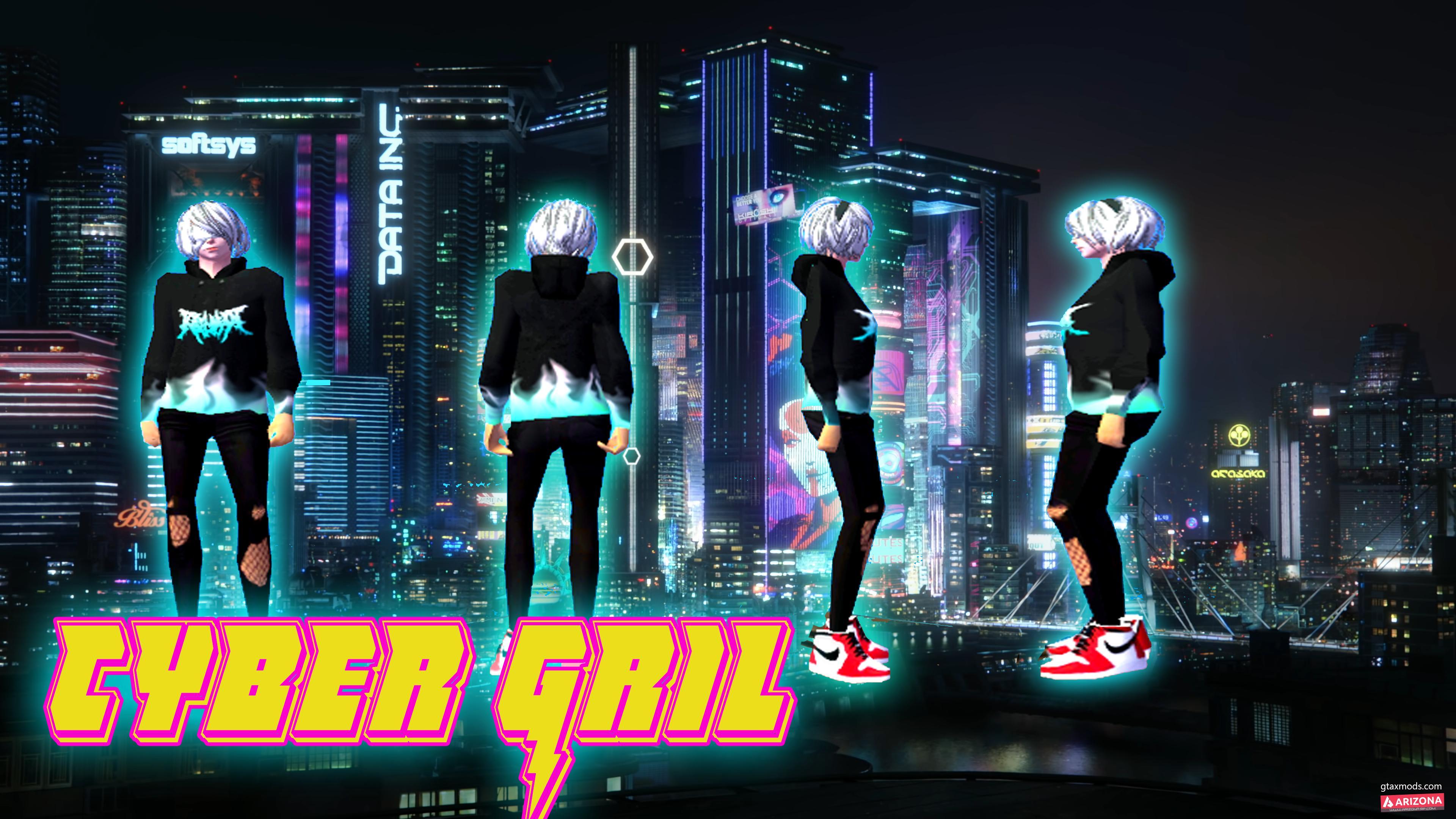 Cyber G Skin By.Xii