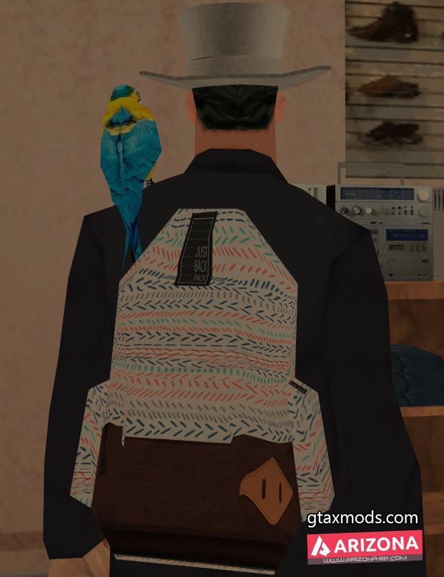 Парашют - Рюкзак от фирмы Just Backpack