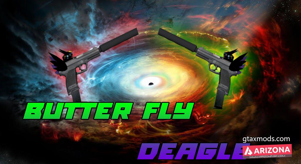 Butterfly Deagle By.Xii
