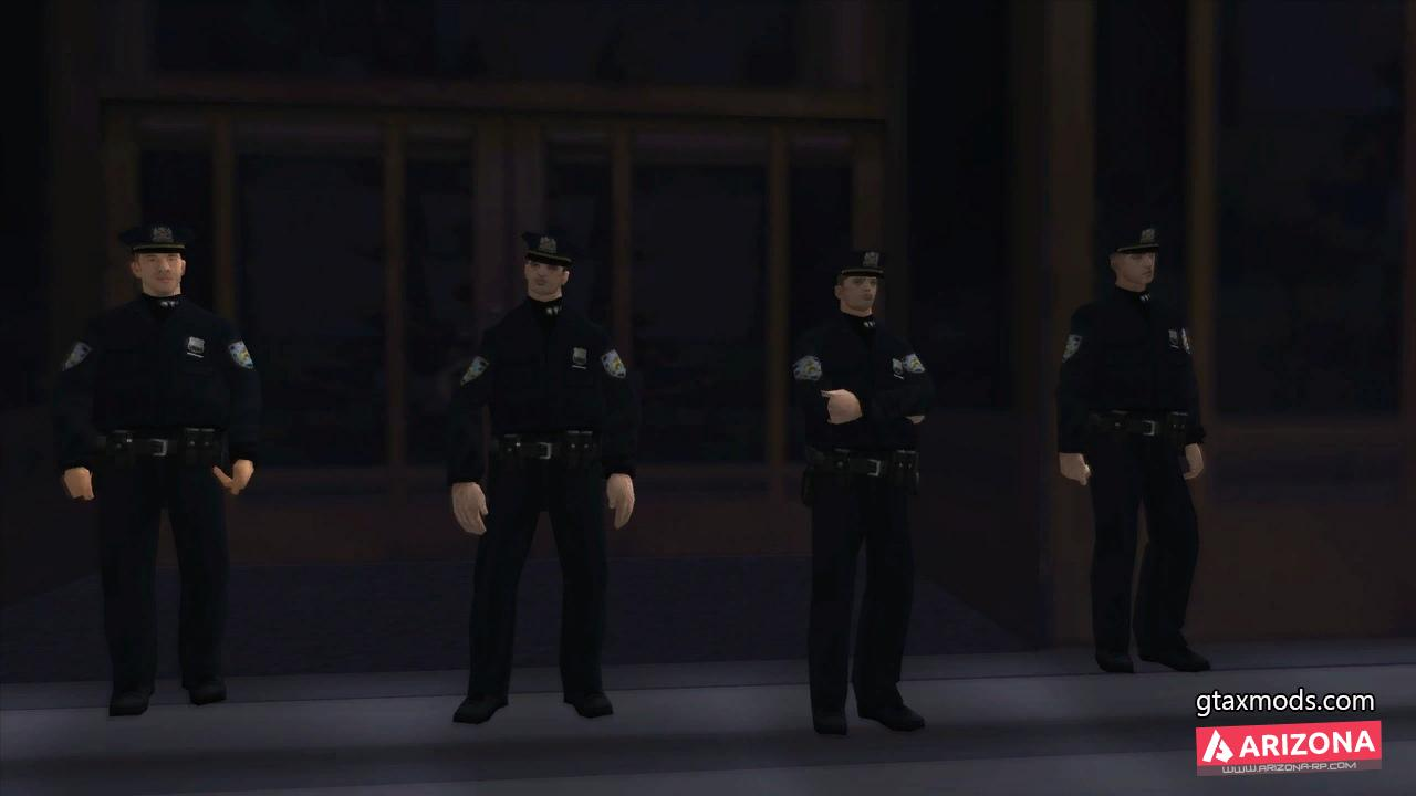 NYPD Winter Skin Pack