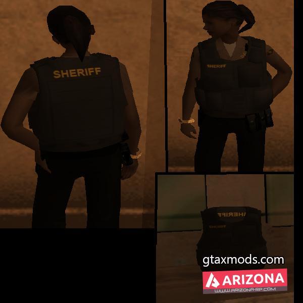 """SWAT Girl + Бронежилет """"Шериф"""""""
