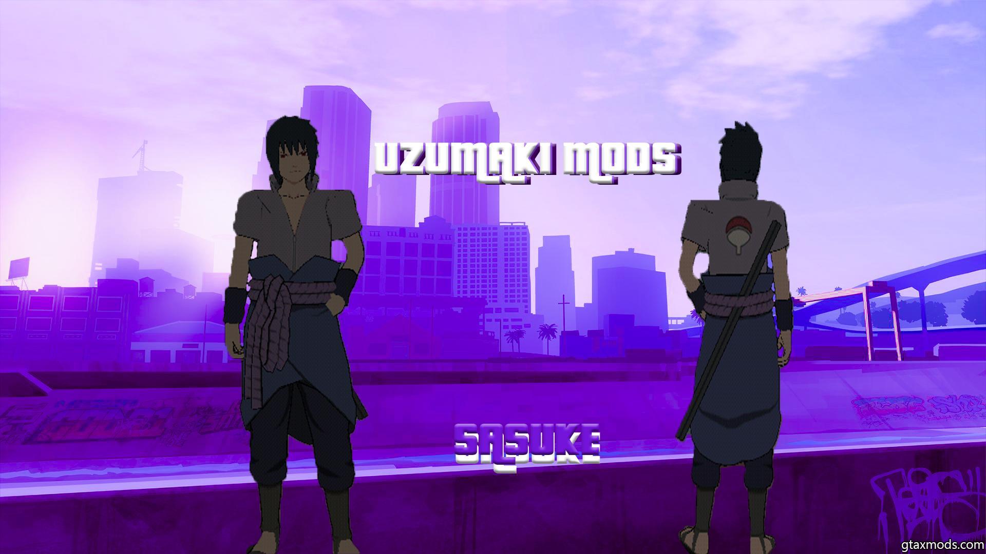 Модель Саске из аниме-Наруто для GTA SA