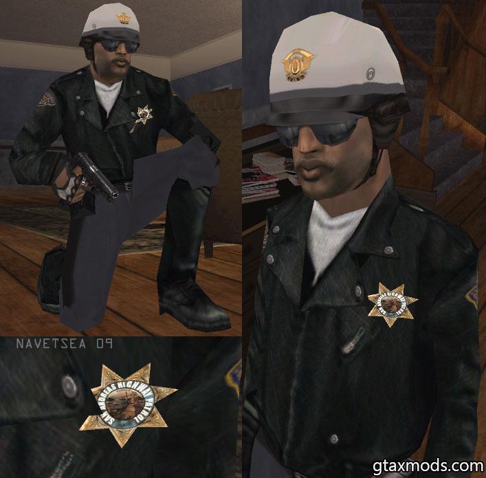 [HQ] Полицейский мотоциклист