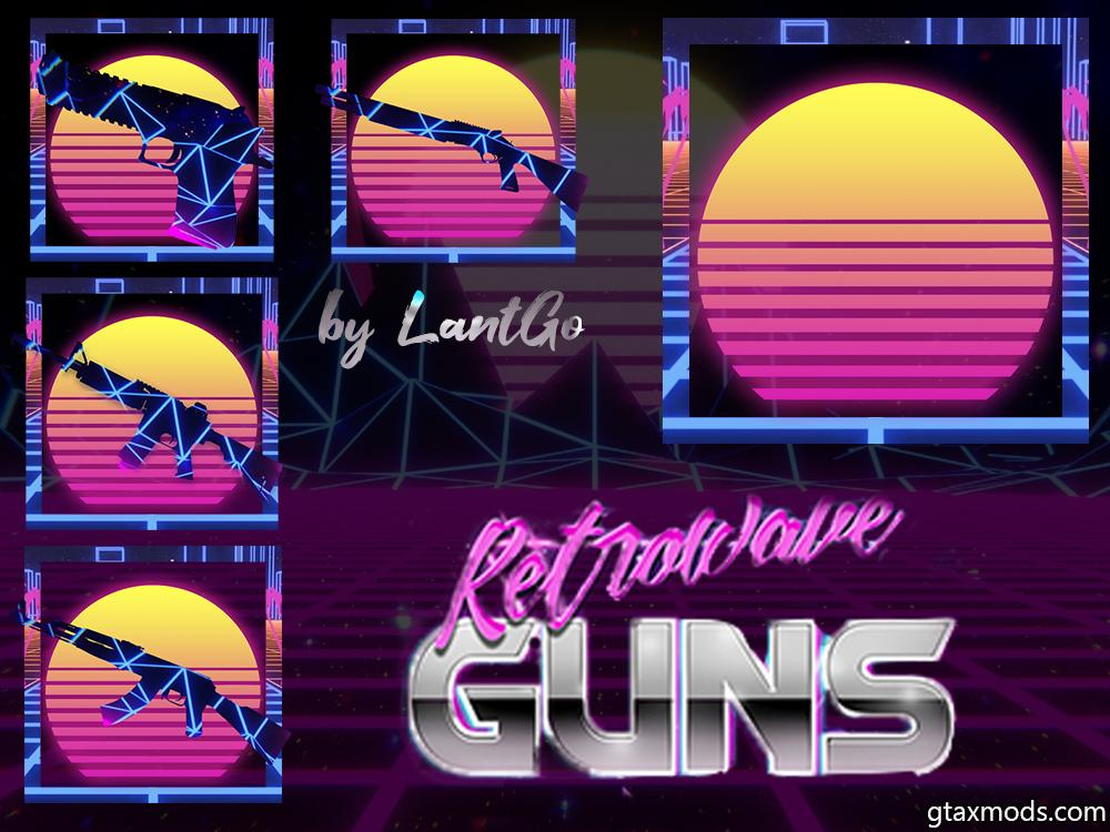 RETROWAVE ICONS