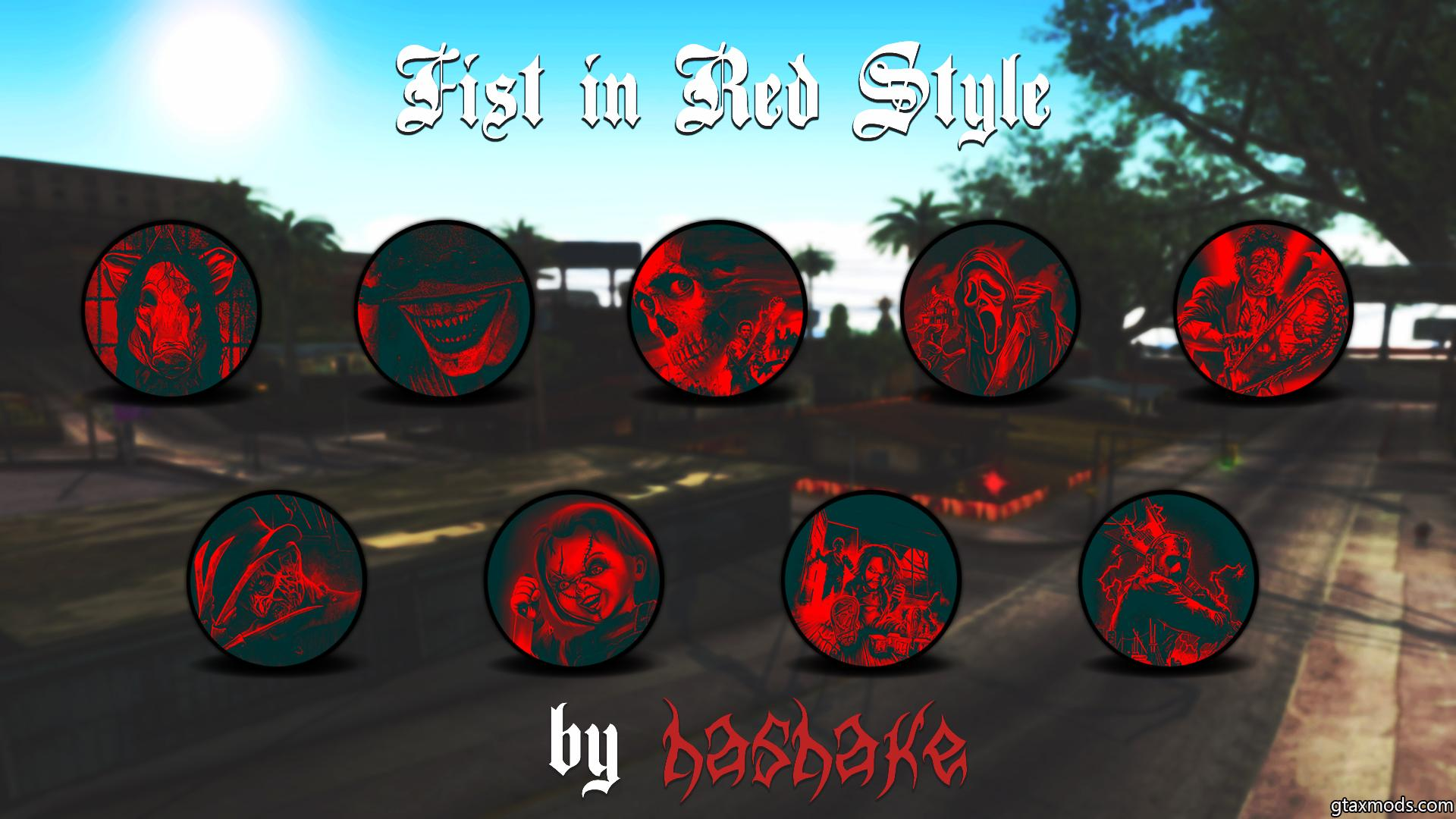 Fist in Red Style by hashake