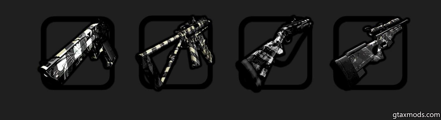 Зебровый GunPack