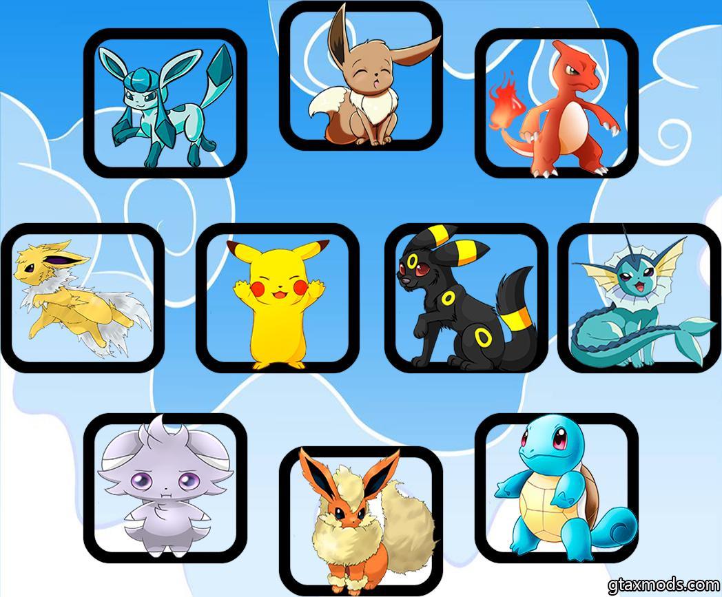 [10] Cute Pokemons Fists
