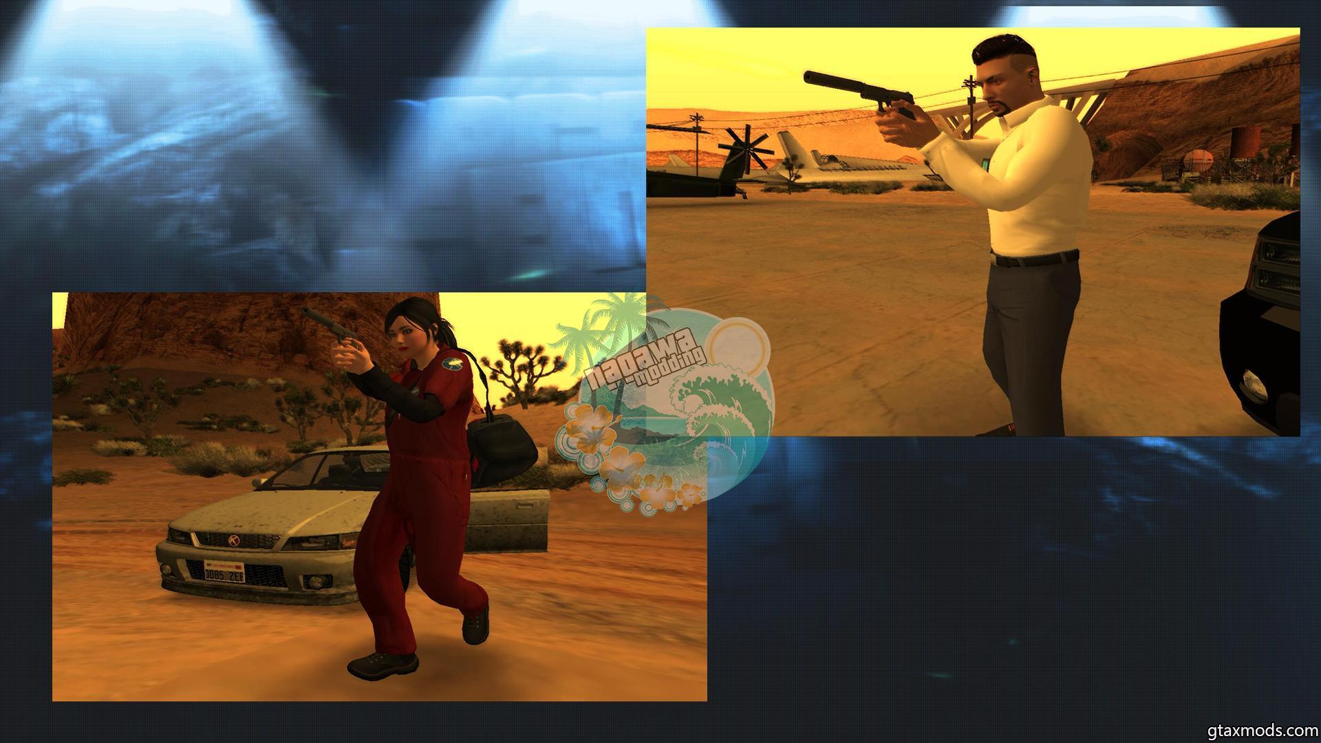 Random Skins GTA V Online in GTA SA