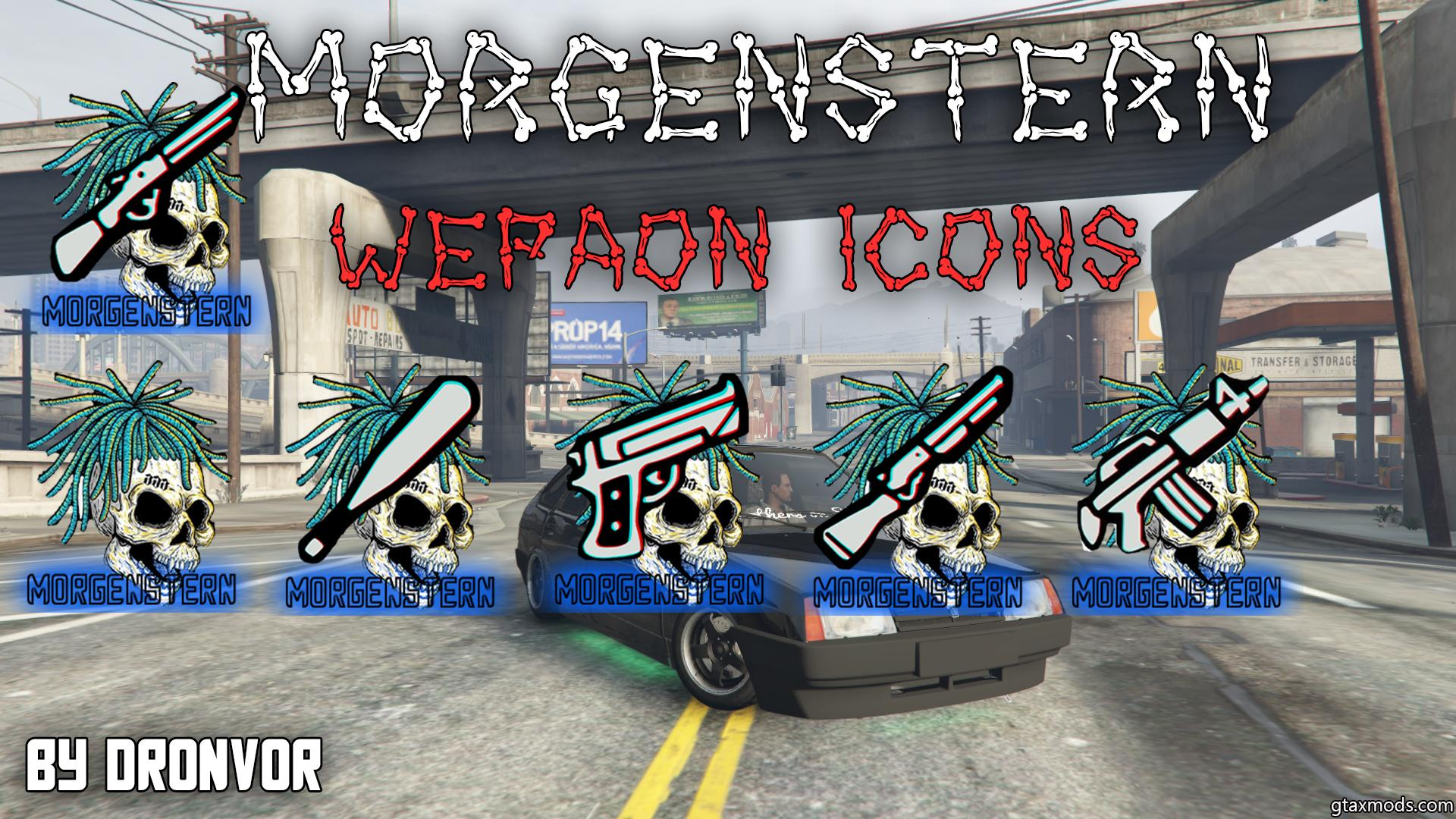 Morgenstern weapon icons by Dronvor