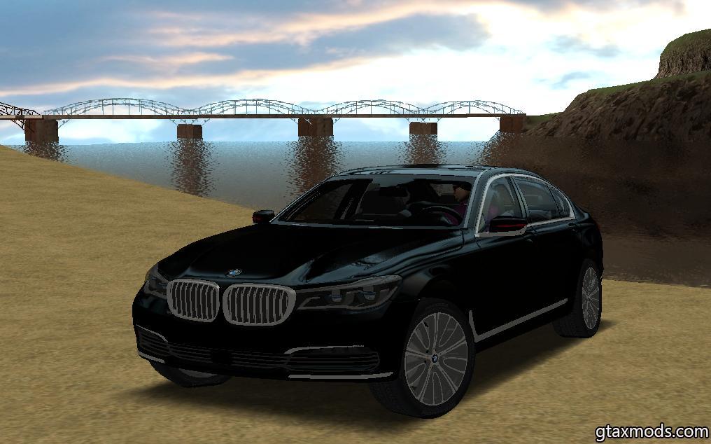 BMW M7 Black