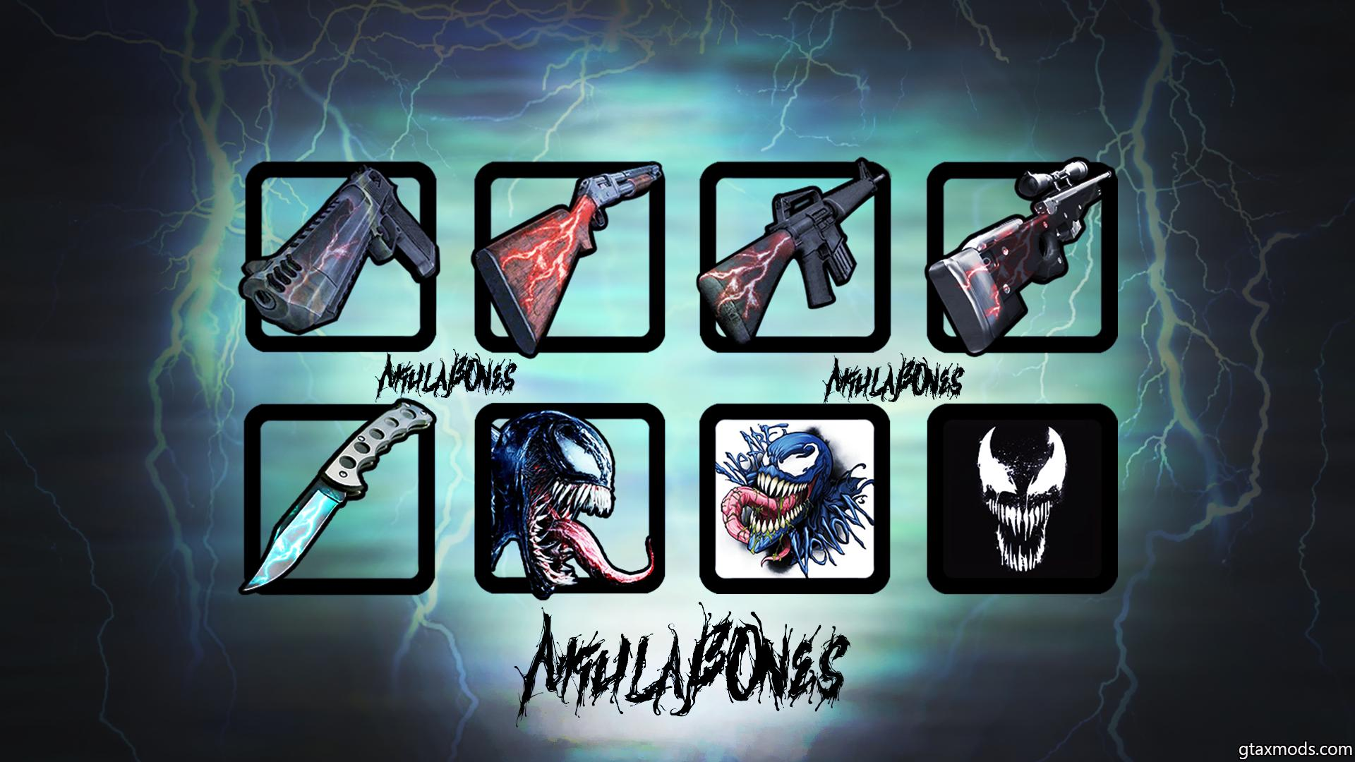 🔄 VENOM  icon Pack • by AkulaBOnes •