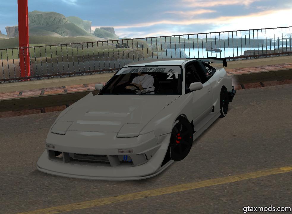Nissan 180sx 1998 Drift