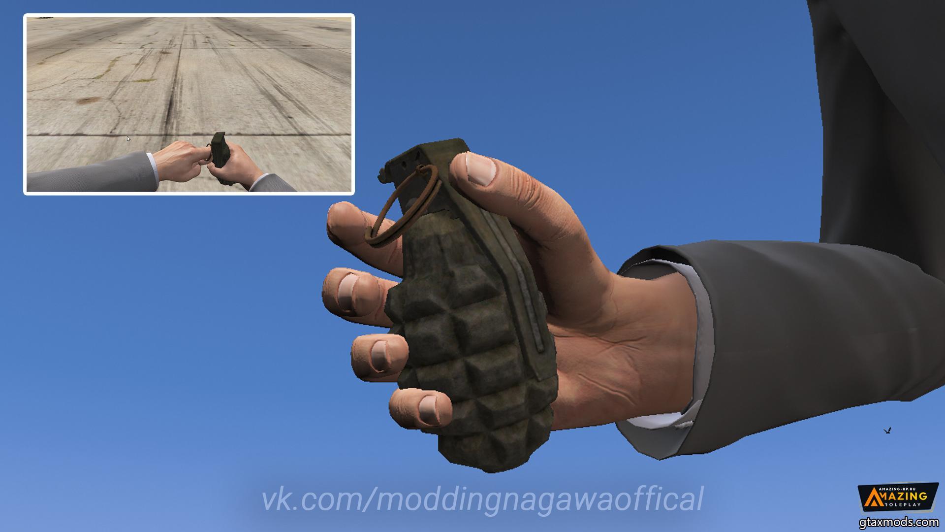 MK2 Frag Grenade
